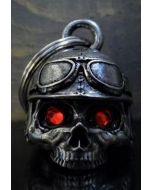 Bravo Motorcycle Helmet Skull Diamond Bell - (BELL09)