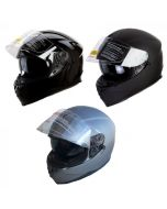 (H822) Dual Visor Helmet -  Bluetooth Socket Compatible