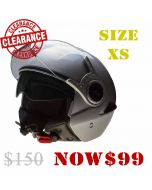 Open Face with Internal Tinted Visor (H852)