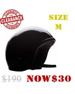 (Smaller Fitting) Fibreglass Low Profile Short Open Face Helmet(HF03)