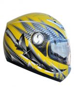 YOHE Fiber Glass Full Face Helmet (HY01)