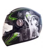 YOHE Fiber Glass Full Face Helmet (HY18)