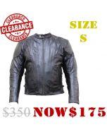 Leather Jacket Side Lace (JLM0101)