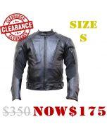 Leather Rubber Jacket (JLM0103)