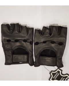 CNELL Cut Fingers Leather Gloves(G015)