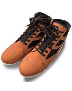 Mens Sturgis Waterproof Motorcycle Casual Sneaker Boots - 406 - 41