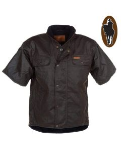 Outback Short-Sleeve Oilskin Vest (OB6037)