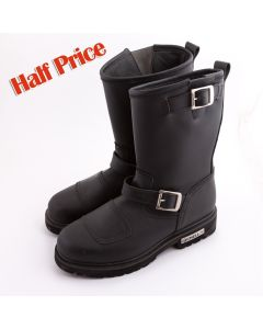 Vintage Looking Motorbike Leather Boots(SM005)