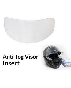 Anti-Fog Visor Insert - Universal