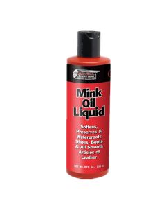 Cnell Mink Oil Liquid Leather Conditioner 8 Oz(AOIL01)