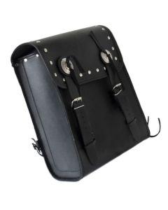 Split Leather Sissy Bar Bag (B106)