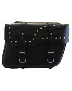 Real Leather Saddle Bag(B11083)