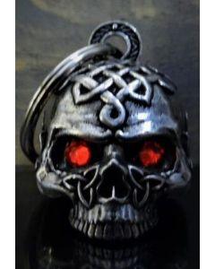 Bravo Celtic Skull Diamond Bell - (NO.24)