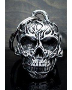 Bravo Flame Skull Bell - (NO.29)