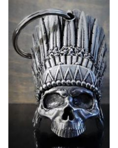 Bravo Indian Skull Bell - (BELL01)