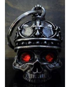 Bravo King Skull Diamond Bell - (BELL03)