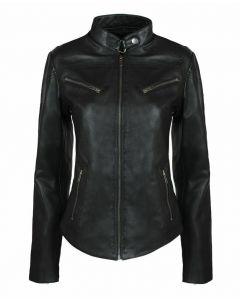 New women's fashion leather jacket - JLFF01
