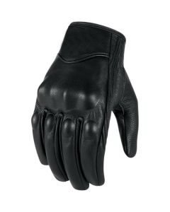 (G001) CNELL Premium Leather Protective Short Motorcycle Gloves