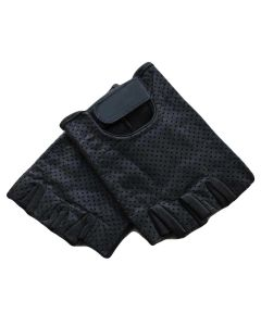 (G012) CNELL Cut Fingers Leather Gloves
