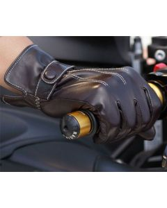 (G3161) Leather Motorcycle Riding Gloves