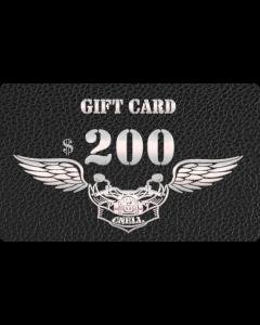 200$ Gift Card