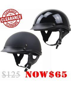 Skull Cap Half Helmet (H205)