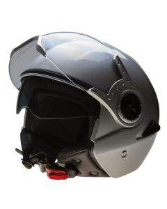 Open face with internal tinted visor(H852)
