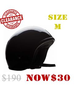 (Smaller Fitting) Fibreglass Low Profile Short Open Face Helmet(HF03)
