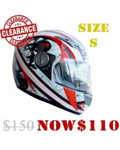 YOHE Fiber Glass Full Face Helmet (HY15)