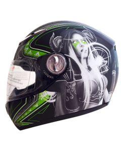YOHE Fiber Glass Full Face Helmet(HY18)