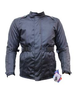 Long Cordura Jacket with Belt (JCM0307)