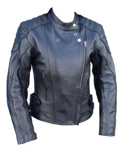 (JLF001) CNELL LADY LEATHER JACKET