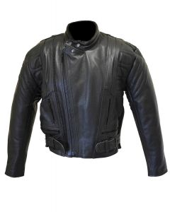 CNELL Leather Jacket with Buckle (JLM0102)