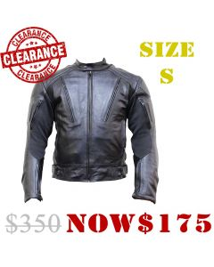 Leather Rubber Jacket (JLM0103)