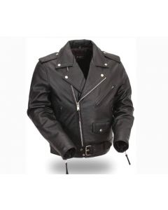 Gents Brando Jacket with Belt (JLM0104)