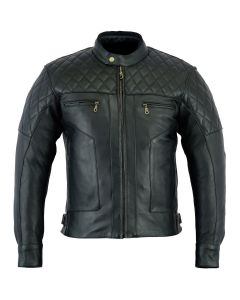 CNELL Baron Diamond Premium Quality Soft Leather Jacket (JLMDIAMOND)