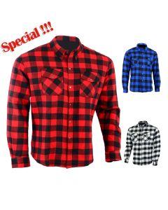 Motorcycle Cotton KEVLAR Shirt - KSN
