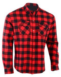 Motorcycle Cotton KEVLAR Shirt - KS (Zip Version)