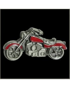 Red Colored Motorcycle Pin - MP177