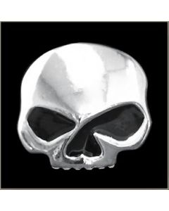 Half Skull w/ Black Eyes Pin - MP68B