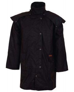 Outback Short Oilskin Coat (OB5008)