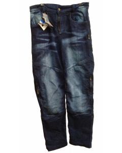 Kevlar Jeans Pant - PJM01 washing blue