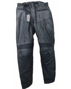 (PLM065-1) Leather Pants With Padding