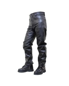 (PLM065 New) Leather Pants