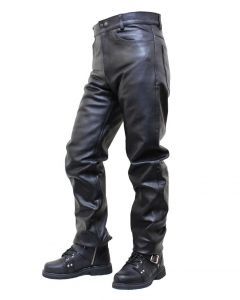 (PLM01) Leather Pants