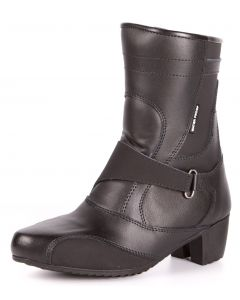 Women's Water Proof Leather Motorcycle Boots(SM013)