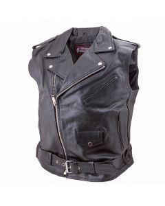 (V182) CNELL Brando Leather Vest