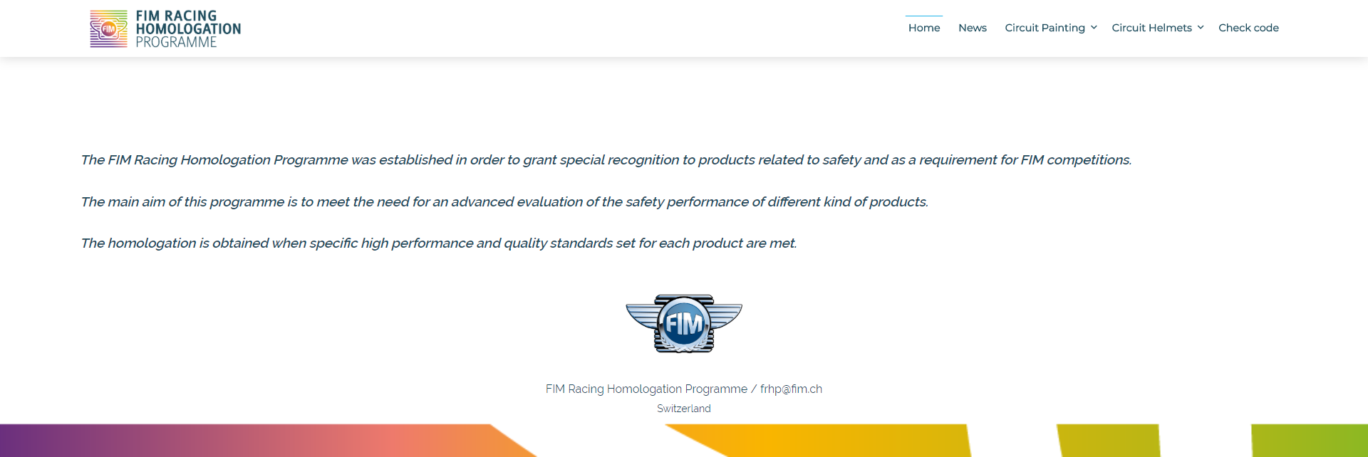 FIM Website