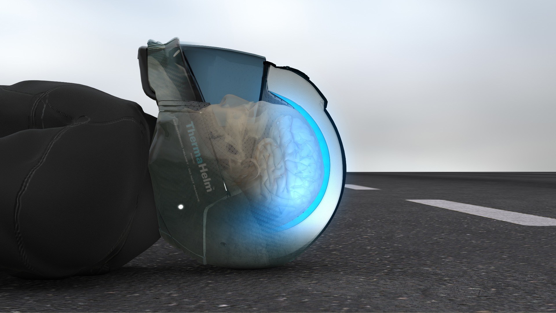 helmet protect brain